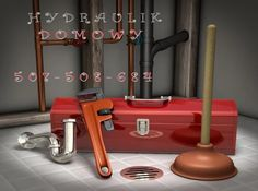 Illustration about Plumbers toolbox, plunger, pipe wrench and sink trap on a tiled floor with exposed pipes in the background. Illustration of water, bathroom, copper - 9421492 Plumbing Drains, Shower Plumbing, Toilet Drain, Residential Plumbing, Gas Service, Pipe Wrench, Plumbing Emergency, Plumbing Problems, Home Ownership