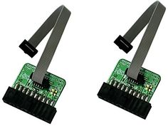 2 PACK ARM-JTAG-20-10 ARM Micro JTAG adapter >>> Check this awesome product by going to the link at the image.