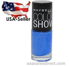 Maybelline #985 PACIFIC BLUES Color Show Nail Polish