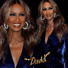 """IMAN: """"MY FIRST NIGHT OUT"""" """"I believe in magic, Angel for life..."""" Iman has taken to social media with this disclosure: """"My first night out attending an event since last year!"""" On Wednesday she made an appearance at New York Fashion Week with a touching tribute to her late husband.  Iman revealed to fashion stylist and journalist Joe Zee for Good Morning America at the Tom Ford show, that she was wearing a gold necklace in memory of Bowie. """"I'm wearing this until my death. Hedi Slimane made…"""