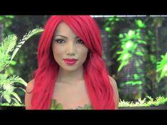 Poison ivy cartoon version make up tutorial Poison Ivy Cosplay, Poison Ivy Costumes, Red Head Halloween Costumes, Halloween Makeup, Halloween Ideas, Beauty Tutorials, Beauty Hacks, Beauty Tips, Poison Ivy Cartoon