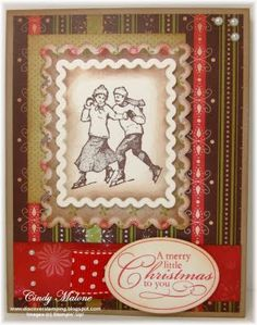 Vintage Christmas #stampinup #christmas #vintage