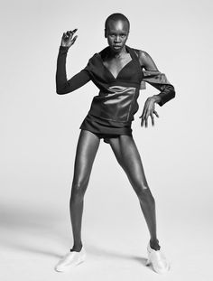 Andreas Öhlund & Maria Therese for Styleby Magazine feat. Alek Wek.