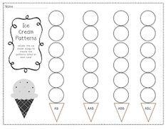 Patterns Worksheet for Kindergarten. 30 Patterns Worksheet for Kindergarten. Grade Math Patterns and Sequences Teaching Abcs to Pattern Worksheets For Kindergarten, Patterning Kindergarten, Tracing Worksheets, Preschool Worksheets, Kindergarten Math, Teaching Math, Math Activities, Maths, Teaching Ideas