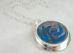 Controlled Chaos Series-- Clay necklace