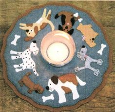 Puppy Love Candle Mat Kit