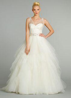 195 best Tulle Wedding Gowns images on Pinterest | Alon livne ...