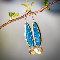 "728 Beğenme, 21 Yorum - Instagram'da Ananda Khalsa (@anandakhalsajewelry): ""Feeling spring with these incredible opals!🌟#anandakhalsajewelry #opals #22kgold"""
