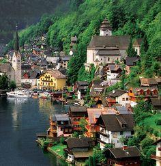 Village Hallstatt   Austria