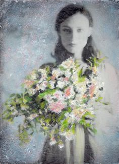 Sweet Aroma by Kayla Barker - Encaustic Film Photography Artwork