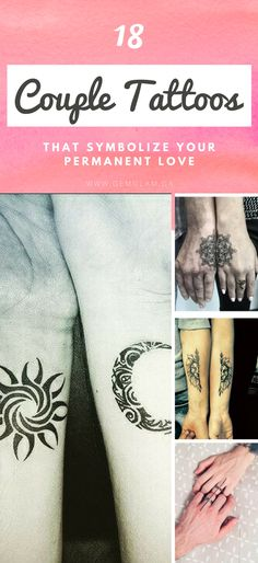 18 couple tattoos that symbolize your permanent love couple//couple goals//couple tattoos//couple tattoo ideas//matching couple tattoo//unique couple tattoo//love couple tattoo//small couple tattoo//meaningful couple tattoo//simple couple tattoo//minimalist couple tattoo//couple tattoo kings and queens//soulmate couple tattoo