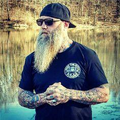 Follow the world's baddest beard club @beardedbadboys on Instagram beards , Bad Boys , babes , tattoos and whole lot more !