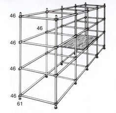 Project to build a shelving rack out of Kee Klamp*** maybe PVC pipe?***