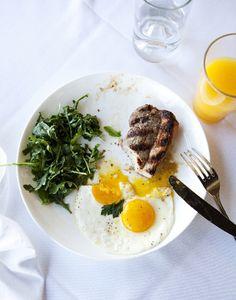 steak 'n' eggs…  photo credit: Seth Smoot