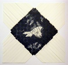 maori art vanessa edwards To always return print weave
