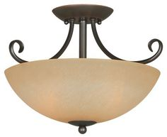 Hardware House 543769 Berkshire 14-1/2-Inch by 10-Inch Ceiling Light Fixture, Classic Bronze by Hardware House, http://www.amazon.com/dp/B0018P1RTE/ref=cm_sw_r_pi_dp_JQvjsb1B9FVJS