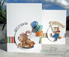 Kreativ Blog by Claudi: Nostalgischer Geburtstag #1 Friend Birthday, Boy Birthday, Birthday Cards, Birthday Delivery, Baby Kind, Big Shot, Kids Cards, Stampin Up Cards, Card Making
