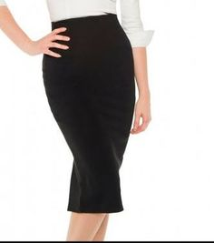NWT Ponte Knit Pencil Skirt from Pinup Girl Clothing Size 2XL Pet Friendly Smoke Free Home $80 shipped within the USA/Canada