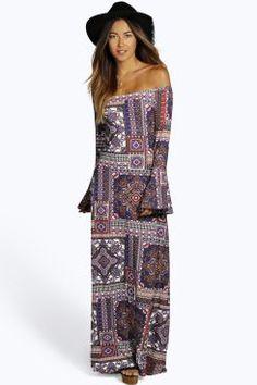 maxi dress 70s fashion romper