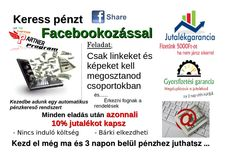 Keress pénzt Facebook megosztásokkal