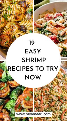 19 Shrimp Recipes That Are Perfect For Dinner Shrimp Recipes For Dinner, Shrimp Recipes Easy, Slaw Recipes, Seafood Dinner, Broccoli Recipes, Seafood Recipes, Pasta Recipes, Cooking Recipes, Vegan Recipes