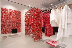 "DOVER STREET MARKET GINZA, Tokyo, Japan, ""The Floral Garden"", creative by Simone Rocha, pinned by Ton van der Veer"