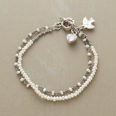 Pearl Artistry Bracelet | Robert Redford's Sundance Catalog