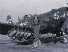 Chance Vought AU-1 Corsair from the VMA-323.
