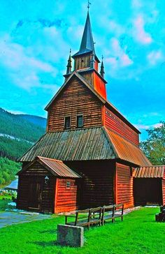 Kaupanger Stavechurch from 1140, Sogndal, Norway