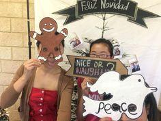 dove gingerman nice or naughty christmas photobooth