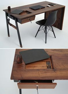 Sean Woolsey Studio Waterfall Desk