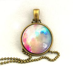 10% SALE Necklace Bright Galaxy Jewelry Universe Space Pendant Necklaces,Constellation,Gift For Her on Wanelo