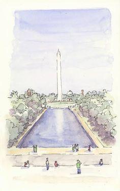 Washington Monument, Washington DC, via Flickr.