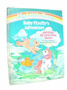 Vintage My Little Pony book 1985 Turquoise  Retro by DDbuttons, $6.00