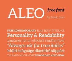 30+ Best Free Sans Serif Fonts to Download in 2014  Aleo