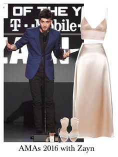 """""""AMAs 2016 with Zayn"""" by reasongirl ❤ liked on Polyvore featuring Lancôme, Christopher Kane, Forever 21, T By Alexander Wang, NARS Cosmetics, Lord & Berry and Giuseppe Zanotti"""