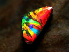 Black Opal .. [not mine ] Picture from Lilac Jewelry ..