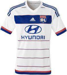 Olympique Lyonnais 2015-16 adidas Home