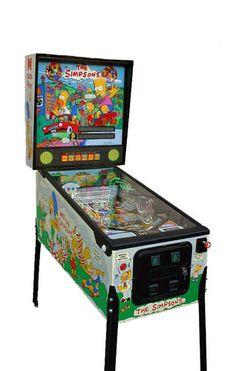 Pinball Machines - Simpsons Pinball Machine - The Pinball Company