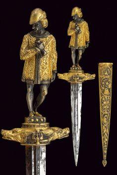 A romantic dagger : dating: 19th Century provenance: France