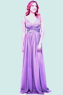 Lavender Ballroom Dress