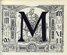 Image result for 1800s letter m illustration