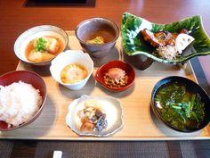 "Prima colazione ""Kaichoro""(Hotel), Ikaho-Onsen(Terme) Gunma Japan"