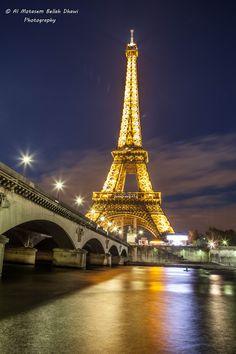 Eiffel Tower  by Al Motasem Bellah  Dhawi, via 500px