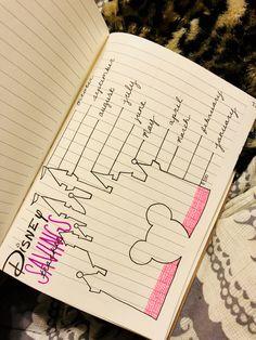 Disney savings tracker in my BUJO! ✨❤️ Disney savings tracker in my BUJO! Bullet Journal Tracker, Bullet Journal Mood, Bullet Journal Spread, Bullet Journal Vacation, Bullet Journals, Scrapbook Disney, Ideas Scrapbook, Journal Inspiration, Journal Ideas