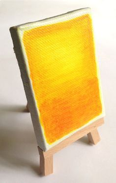 Tutorial on Miniature Mark Rothko painting. Art Projects for Kids