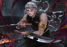 Anime Demon, Manga Anime, Anime Art, Era Taisho, Inuyasha Cosplay, Fanart, Human Poses Reference, Dragon Slayer, Slayer Anime
