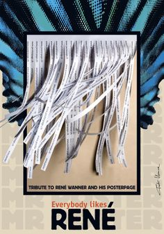 Tributo a Rene Wanner: SR CARTEL  Piotr Kunce. Polonia Bienal del Cartel Bolivia. BICeBé 2013