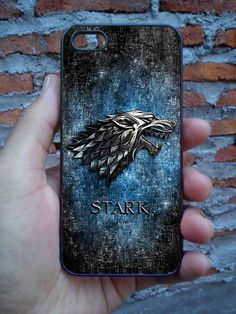 Game Of Throne Stark Clan on iPhone 5c Case, iPhone 5/5s Case, iPhone 4/4s Case, Case Cover