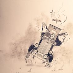SKETCHBOOK:  Nuns on the Run